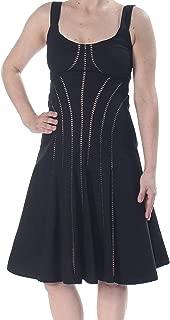 Women's Dress A-Line Sleeveless Eyelet