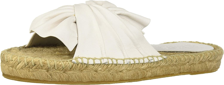 Bayton Womens Coquetta Bow White Espadrille Moccasin