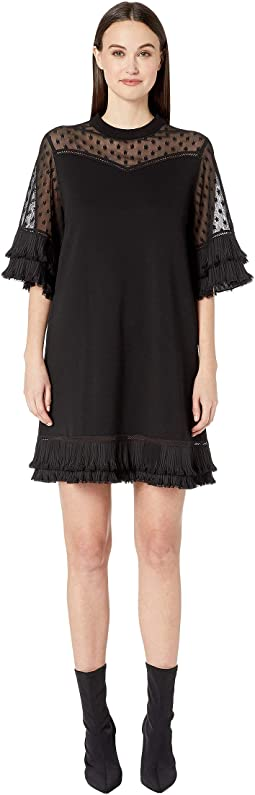 Volume Ruffle Dress