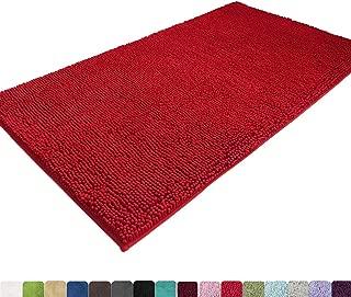 MAYSHINE Absorbent Microfiber Chenille Door Mat Runner for Front Inside Floor Doormats,..
