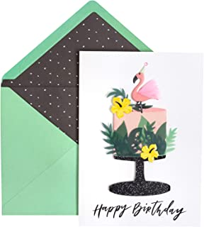 Jolee's Boutique 8600509 Greeting Card, Tropical Cake
