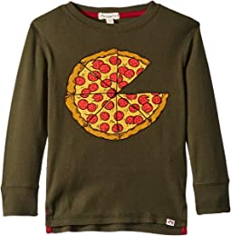 Extra Soft Pizza Pie Graphic Long Sleeve Tee (Infant/Toddler/Little Kids/Big Kids)
