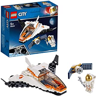 LEGO City Space Port Satellite Service Mission for age 5+ years old 60224