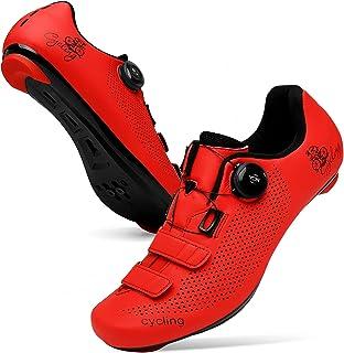 JINKUNL Men Cycling Shoes Women Peloton Shoes Road Bike Shoes Mountain Riding Shoes Spin Shoestring Bicycle Shoes Compatib...