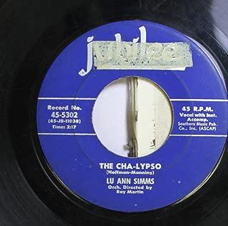 Lu Ann Simms 45 RPM The Cha-Lypso / I Remember Marcellino