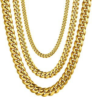 Stainless Steel Cuban Chain/Snake Chain/Round Box Chain,...