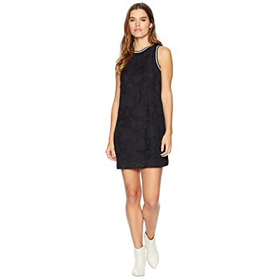 kensie Delicate Burnout Dress KS0K8313 (Black) Women