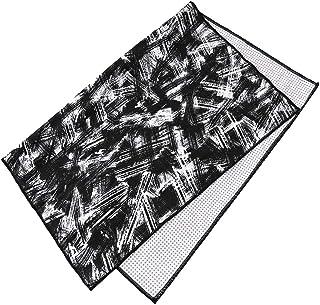 CXQ Printed Yoga Towel Beginner Yoga Blanket Yoga Paving Fitness Yoga Supplies Black White Towel Pad