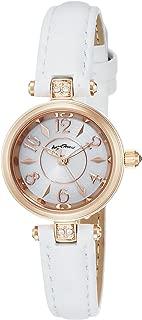 [エンジェルハート] 腕時計 HappyPrism シルバー文字盤 スワロフスキー HP22P-WH ホワイト