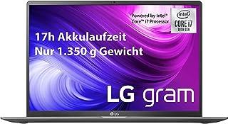 LG gram 17 tums bärbar dator – 1,35 kg lättare Intel Core i7 laptop (16 GB DDR4 RAM, 1 TB SSD, IPS Display, Thunderbolt 3,...