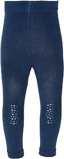 GoBabyGo Baby Leggings mit ABS Noppen an Knien - Produziert in Europa   Kinder Krabbel Leggins. Mädchen, Junge   Gr.74, 80, 86