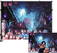 Allenjoy Halloween Theme Backdrop 7x5ft Nightmare Party Pumpkin Photography Background Children Baby Shower Decoration Photography Photo Booth Prop Halloween Decor Backdrop for Photography