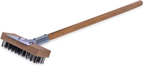 Carlisle 36372500 Oven & Grill Brush With Scraper, Stainless Steel Bristles and 30