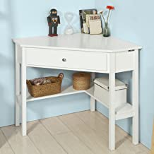 Best white corner desk with drawers Reviews
