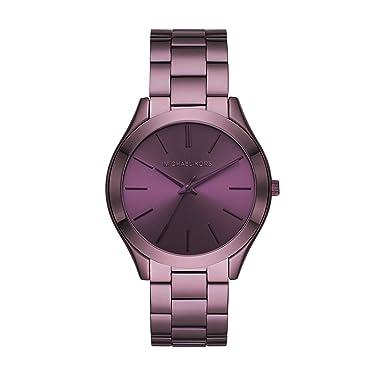 Michael Kors Slim Runway - Reloj de tres manos.