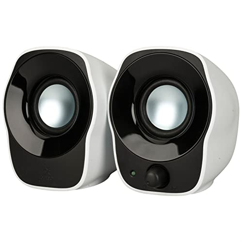Logitech - 980-000513 - Stereo Speakers Z120 - Haut-parleurs 2.0 1.2 Watts - Blanc