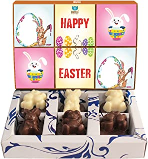 BOGATCHI Chocolate Easter Eggs, Easter Chocolates, Easter Bunnies 60 g