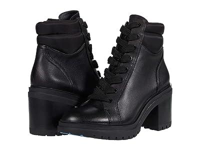 Kenneth Cole New York Rhode Heel (Black Leather) Women