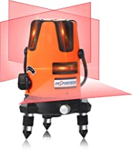 Self-Leveling Red Beam Laser Level Horizontal Vertical Cross Line Lazer Rechargeable..