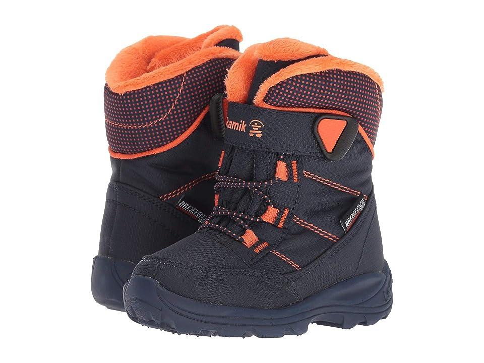 Kamik Kids Stance (Toddler) (Navy/Flame) Boys Shoes