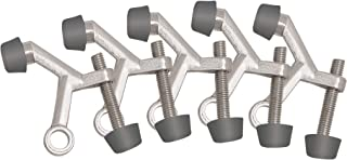 Design House Accessories 181776 Standard Hinge Pin Door Stop, 5-Pack, Satin Nickel, 5 Count
