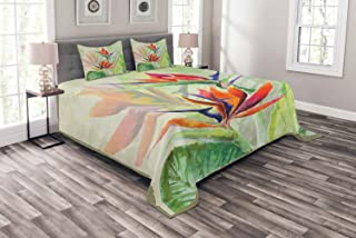 bird of paradise pillow shams