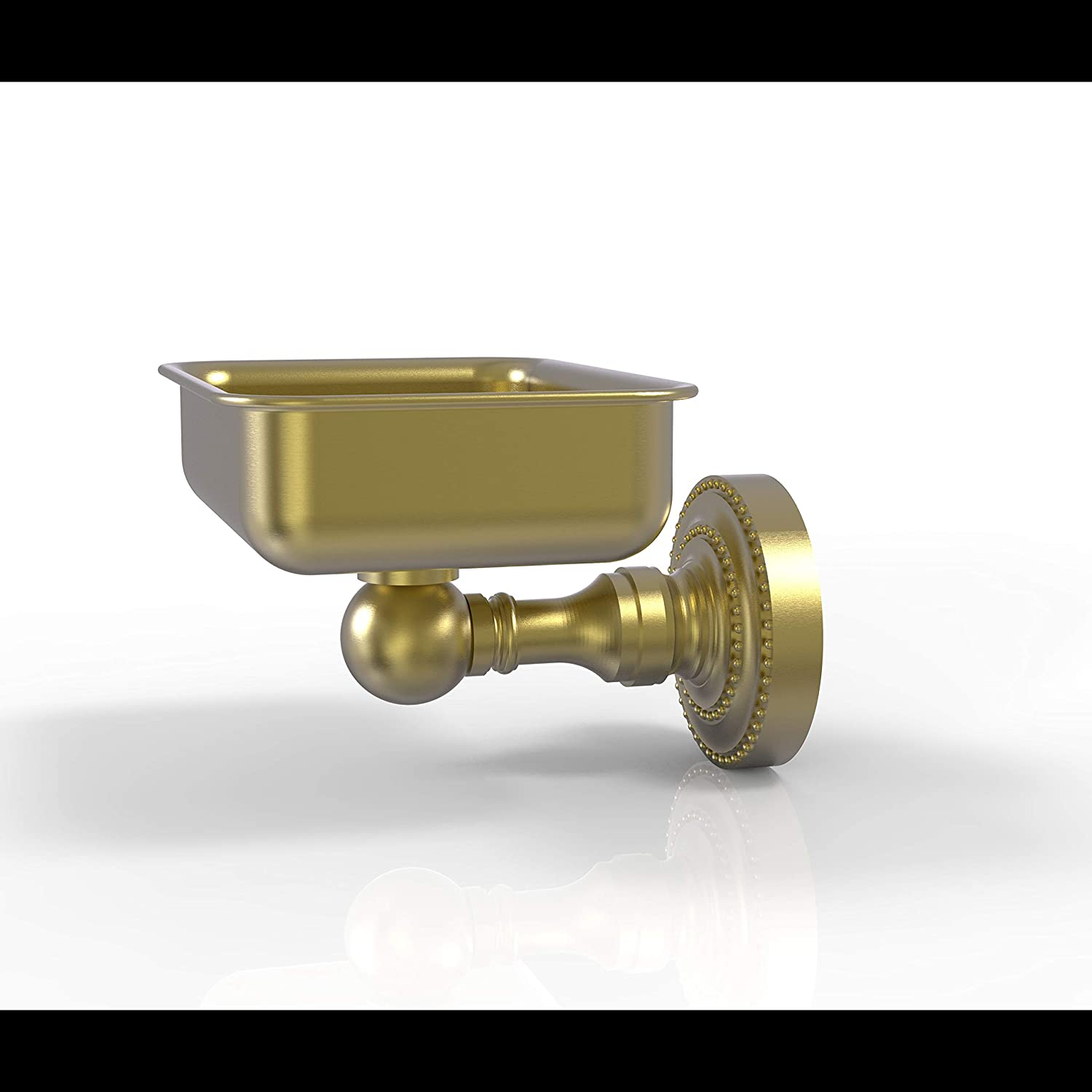 Allied Brass DT-32 Dottingham Collection Los Angeles Mall Wall Soap San Francisco Mall Dish Mounted