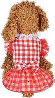 Xmiral Gonna Cani Abiti Vestiti Animale Domestico Cucciolo #529636