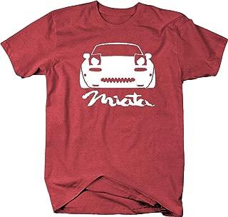 Miata Angry Eyes Lowered Racing Speed JDM Mazda Mens T Shirt