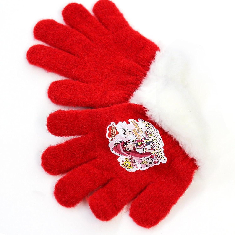 ハピネスチャージ プリキュア 手袋 カラー:レッド