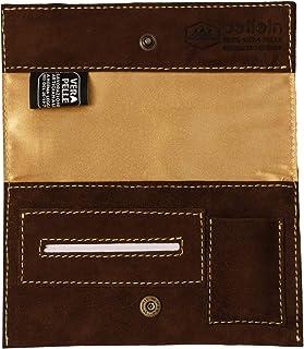 Pellein - Portatabacco in vera pelle Sahara - Astuccio porta tabacco, porta filtri, porta cartine e porta accendino. Handm...