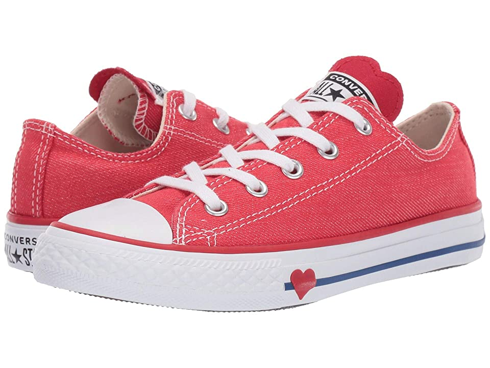 8a86eb55bcc25c Converse Kids Chuck Taylor All Star Denim Love Ox (Little Kid) (Sedona Red