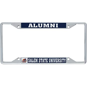 Desert Cactus Worcester State University WSU Lancers NCAA Metal License Plate Frame for Front or Back of Car Officially Licensed Mascot