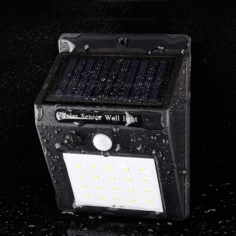 2 PCS,Solar Body Sensor Wall Light, Outdoor Light Garden Garden Light, Wall Light Street Light