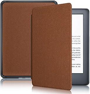 Capa Kindle 10ª geração com iluminação embutida – Função Liga/Desliga - Fechamento magnético - Cores (Marrom)