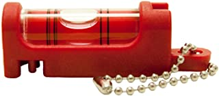 アカツキ製作所 (Kod) 携帯気泡管水平器 水平くんプラス ボディ:赤 気泡管:赤 SU-RR