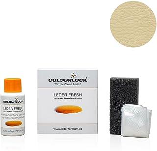 COLOURLOCKLeder Fresh Tinte para piel, frasco mini de 30ml de color de estándar F (colorante de piel, retoques), elimina roces, decoloraciones y el desgaste en piel y piel sintética