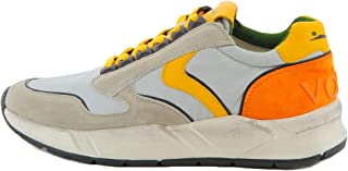 VOILE BLANCHE ARPOLH Eyelet Sneaker Uomo Grigio 41