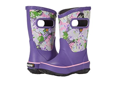 Bogs Kids Rain Boots Deco Floral (Toddler/Little Kid/Big Kid) (Purple Multi) Kids Shoes