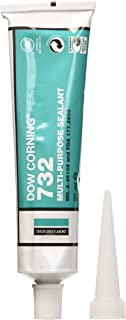 Dow Corning 732/3 - Sellador multiusos (90 ml), color negro