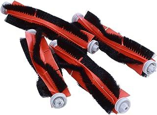 TOOGOO 4 Pcs/Set Roller Brush Suitable for Robot Vacuum Cleaner/Vacuum Cleaner-Roller Brush