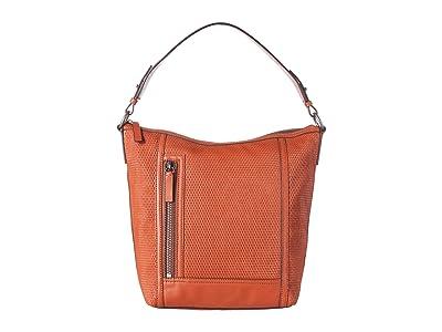 Frye Lena Perf Hobo (Spice) Handbags