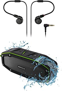 $130 » Audio Technica ATH-E40 Pro in-Ear Monitor Mini Earphones + Bluetooth Speaker
