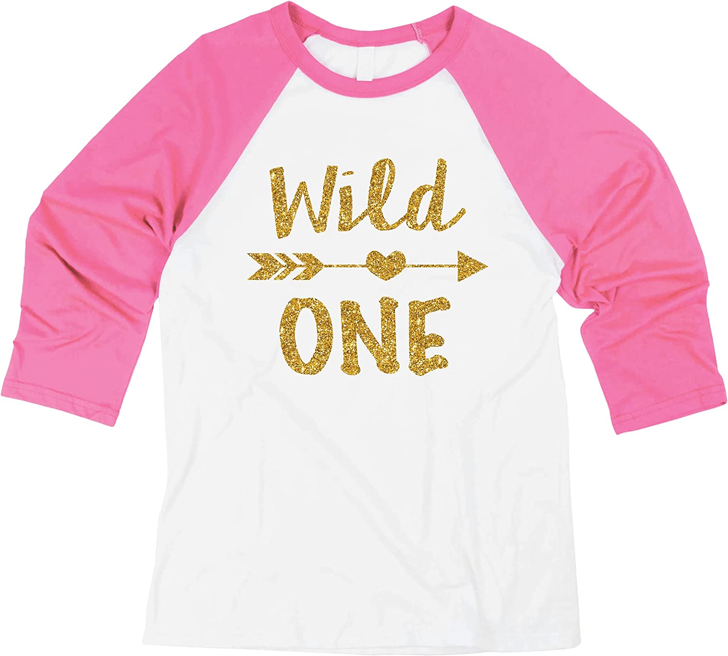 Bump and Beyond Designs 1 Year Old Birthday Shirt Girl First Birthday Outfit