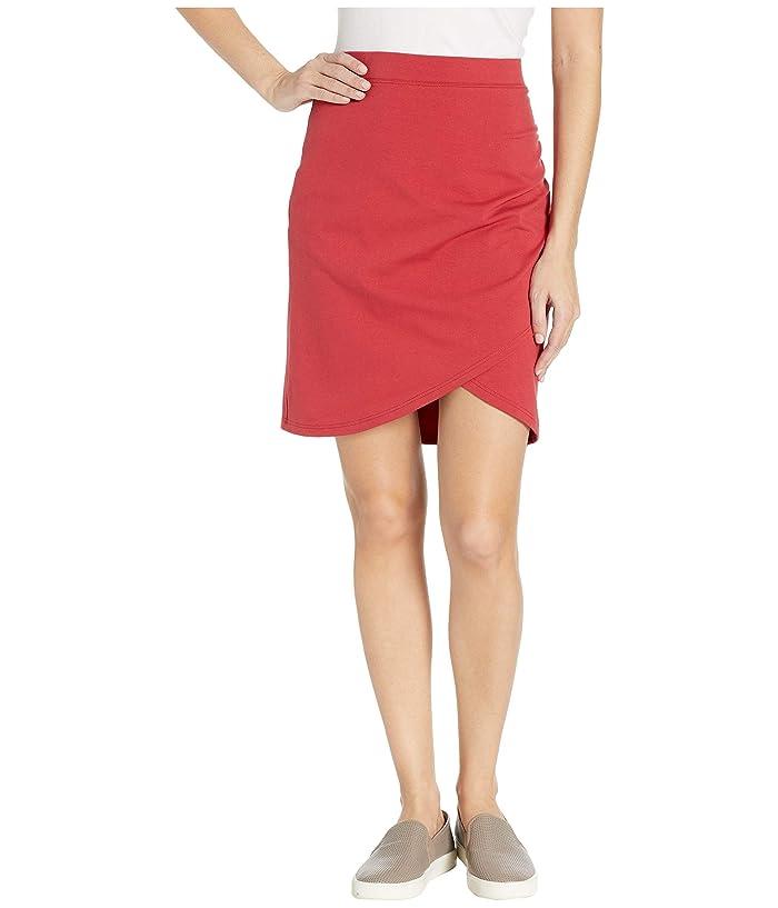 FIG Clothing Far Skirt (Cranberry) Women