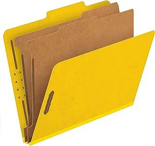 Pendaflex Classification Folders, 2 Dividers, 2