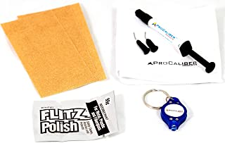 ProCaliber Products Granite & Marble & Quartz & Stone Chip & Nick Repair and Fill Kit - Clear LCA