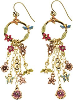Guess UFE10805 Multi Chain Fish Hook Dangle Earrings for Women