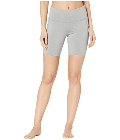 Jockey Active Competitor Performance Bike Shorts (Light Grey Melange) Women
