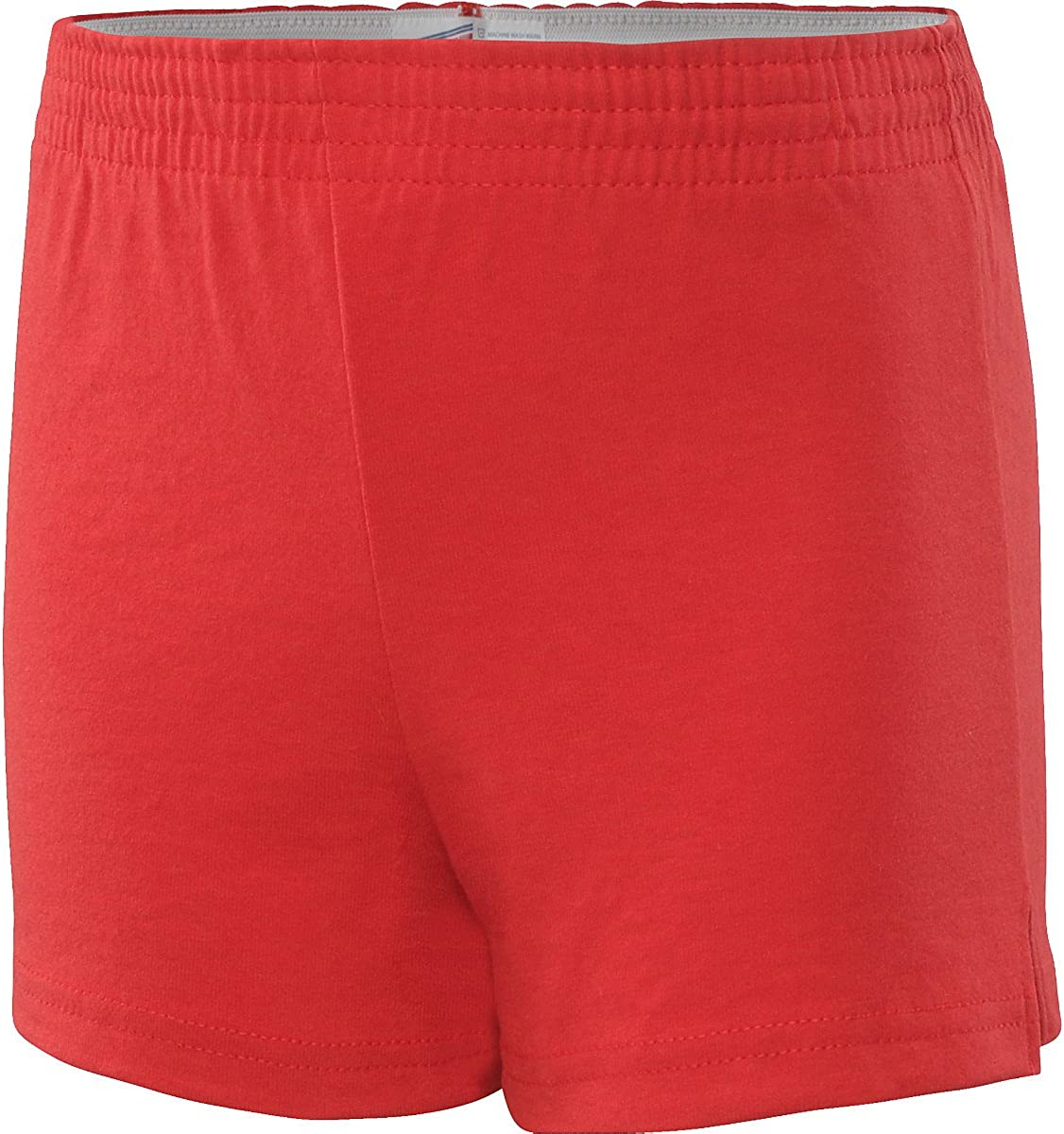 Soffe Youth Girls' Authentic Shorts (Red, X-Small)